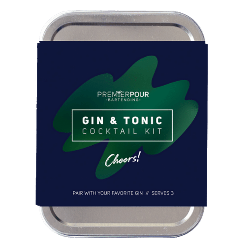 Gin & Tonic Cocktail Kit, Serves 3 Gin & Tonic Cocktails, Pair with your favorite gin