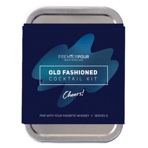 Old Fashioned Cocktail Kit, Serves 6 Old Fashioned Cocktails, paid with your favorite whiskey or bourbon